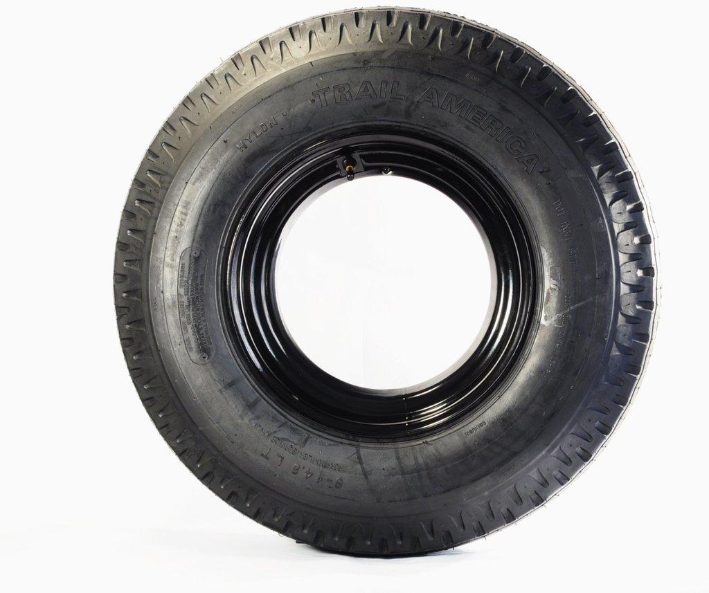 8X14.5 LT Open Rim Mobile Home Trailer Tire Tredit