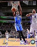 Joel Embiid Philadelphia 76ers NBA Action Photo (Size: 8'' x 10'')