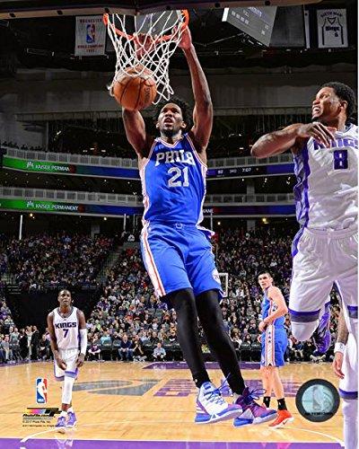 Joel Embiid Philadelphia 76ers NBA Action Photo (Size: 8'' x 10'') by NBA