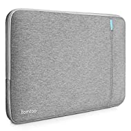 Tomtoc Drop-proof Laptop Sleeve for 13 - 13.3 Inch MacBook Air   MacBook Pro Retina Late 2012 - Early 2016   12.9 Inch iPad Pro, 360° Protective Chromebook Tablet Case, Spill-Resistant, Gray