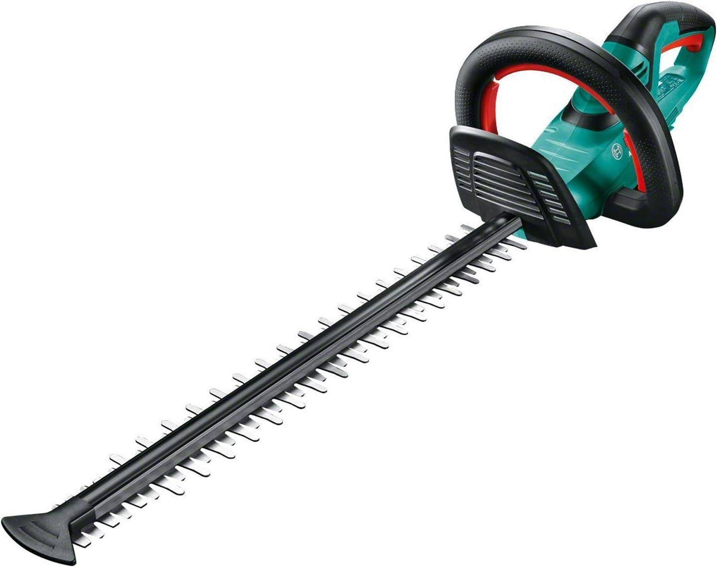 Bosch AHS 55-20 LI - Tijera cortasetos a batería sin batería, en caja de cartón (18 V, longitud de cuchilla: 55 cm, distancia entre dientes: 20 mm)