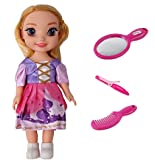 Amitasha Beautiful Fashion Girl Doll with Accessories Toy Set for Girl
