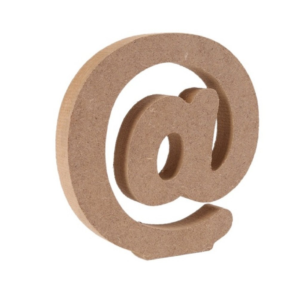 Wooden Letters, Toifucos A-Z DIY English Alphabet Craft Ornaments for Home Wedding Birthday Party Decoration Accessories, 1 pcs A