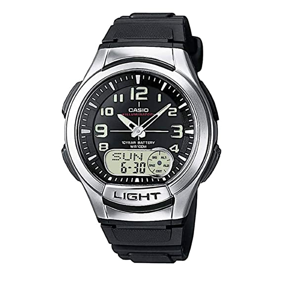 Casio AQ180W-1BV - Reloj de Pulsera Hombre, Resina: Casio: Amazon.es: Relojes