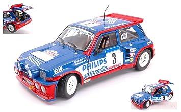 Solido SL1850027 Renault R5 Maxi N.3 Tour DE Corse 1985 RAGNOTTI-THIMONIER 1:18: Amazon.es: Juguetes y juegos