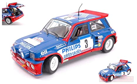Solido SL1850027 Renault R5 Maxi N.3 Tour DE Corse 1985 RAGNOTTI-THIMONIER 1