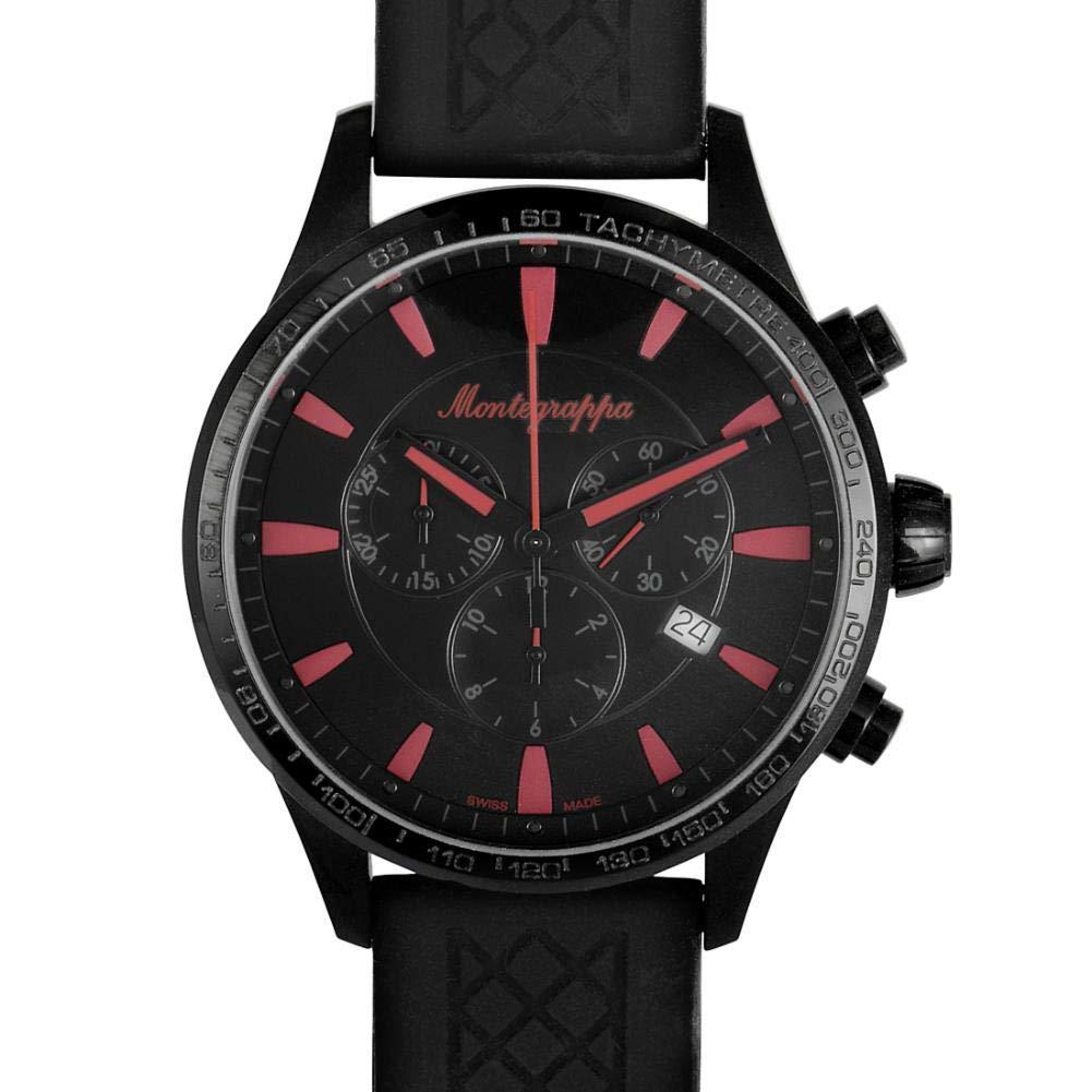 Montegrappa Fortuna Quartz Male Watch IDFOWCSR (Certified Pre-Owned)