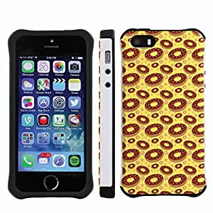 [ArmorXtreme] Drop Proof Dual Layer Protection Case (Donut) for Iphone 5s