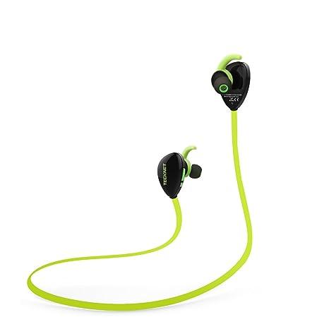 Auriculares Inalambricos Bluetooth Deportivos In Ear, TeckNet Auriculares Deporte Headphones Deportivo con micrófono sin ruido