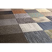 Nance Industries Peel and Stick 500 Square Feet Commercial Carpet Tile, 20