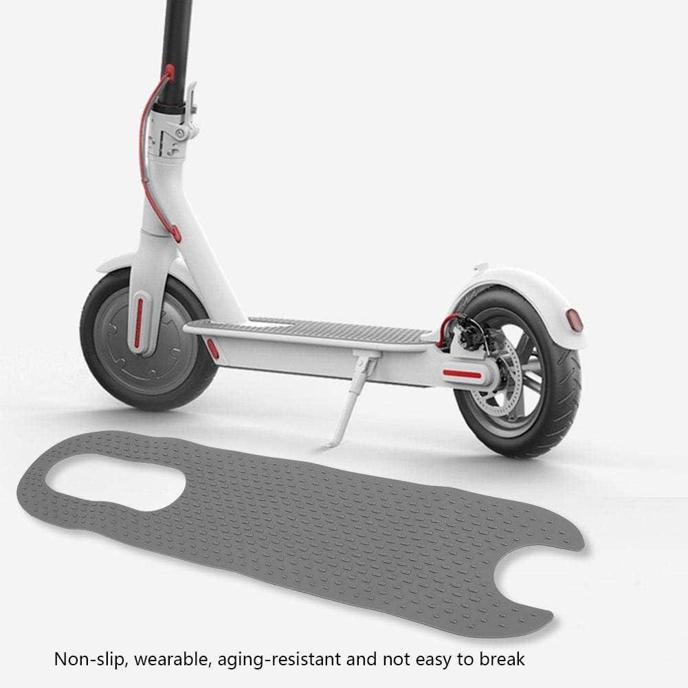 Estera eléctrica del pie del monopatín del E-Bike Antideslizante del pie del monopatín Almohadilla de Goma del Pedal con la Etiqueta engomada del Pegamento para la Vespa eléctrica Xiaomi mijia M365