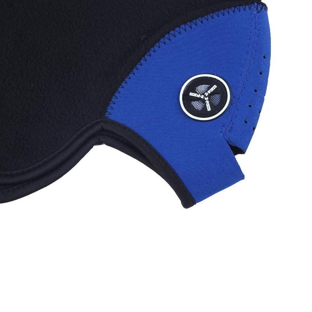 Trifycore Unisex Neopreno Media mascarilla del Cuello Caliente Moto Deportiva a Prueba de Viento del Festival de Invierno esqu/í de la Motocicleta del Snowboard Azul Salud y Belleza