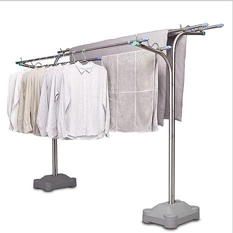 Tendedero de Ropa Plegable Vertical Poste de ropa creativo ...