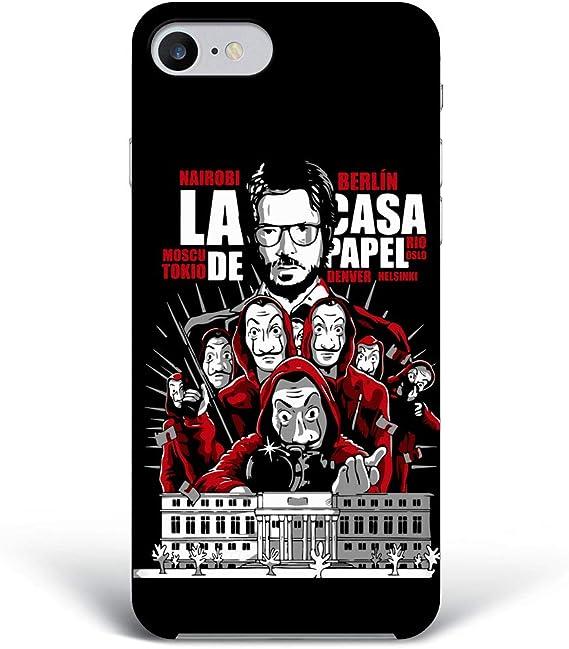 La casa di carta Cover 4 Smartphone Custodia per Tutti Modelli Apple iPhone Samsung Huawei Idea Regalo collezione telefono Netflix Serie TV Cult La ...