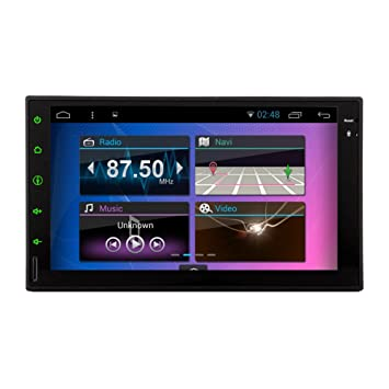 "7 ""2Din con Android 5.1 Tablet PC de coches Toque 2 DIN universal Para"