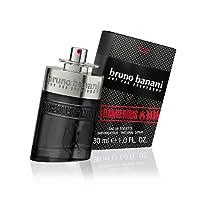 bruno banani Dangerous Man – Eau de Toilette Natural Spray – Unwiderstehlich-aufregendes Herren Parfüm – 1er Pack (1 x 30ml)