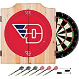 University of Dayton Deluxe Solid Wood Cabinet Complete Dart Set - Officially Licensed!