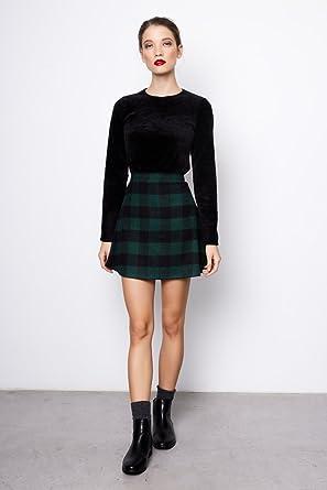 Compañía Fantástica - Falda Cornoil / Cornoil Skirt, Color Cuadros ...