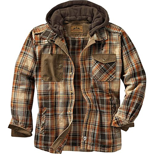 UPC 632187696587, Legendary Whitetails Men's Horizon Hooded Shirt Jac XXX-Large,Durango Plaid