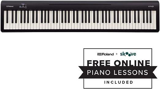 ROLAND FP-10, Piano Digital, Negro : Amazon.es: Instrumentos ...