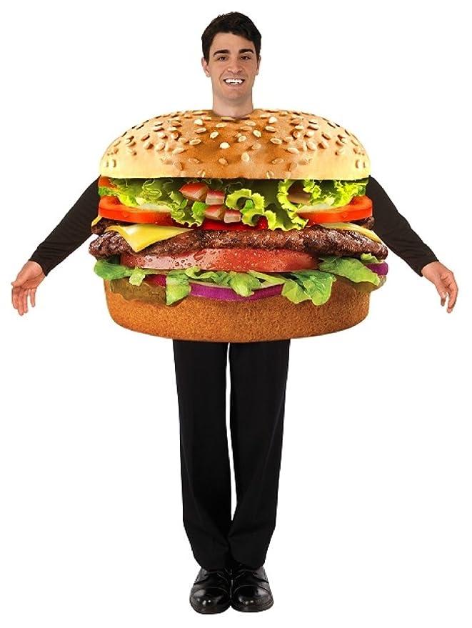 amazoncom forum mens hamburger costume multi one size clothing