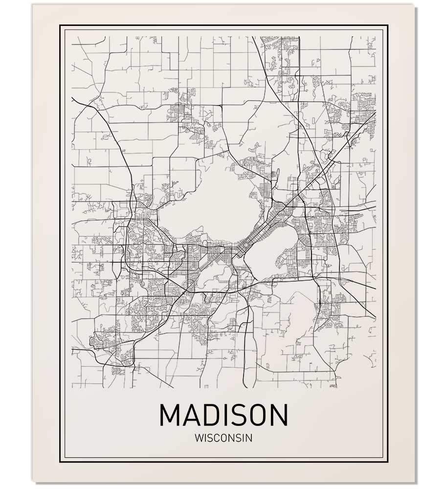 Amazon.com: Madison Poster, Madison Map, Map of Madison ... on madison wisconsin us map, city of deer park map, city of delavan map, city of college park map, city of monona map, city of brook park map, city of lexington map, city of new york city map, city of ely nv map, city of alabama map, city of brooklyn map, city of rice lake map, city wi map, city of benson map, madison wi map, city of union city map, city of savage map, city of plant city map, city of wisconsin map, city of oklahoma map,