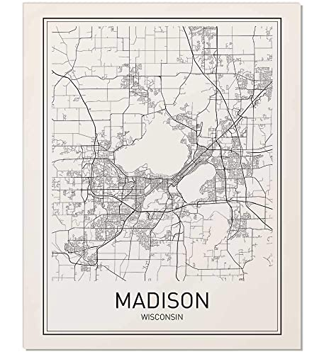 Amazon.com: Madison Poster, Madison Map, Map of Madison ... on eau claire, chicago illinois map, wisconsin on us map, saint paul, silver city wisconsin map, waukesha wisconsin map, la crosse wisconsin map, deforest wisconsin map, iowa city, madison wis, oak creek wisconsin map, ann arbor, green bay, wisconsin dells, janesville wisconsin map, grand rapids, la crosse, wisconsin state capitol, northern wisconsin map, west allis wisconsin map, kentucky wisconsin map, southeast wisconsin map, melrose wisconsin map, missouri wisconsin map, sioux falls, sharon wisconsin map, des moines, detailed wisconsin map, iowa map, appleton wisconsin map, neenah wisconsin map,