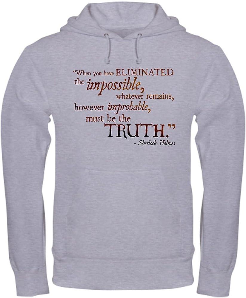 CafePress Impossible Pullover Hoodie, Hooded Sweatshirt