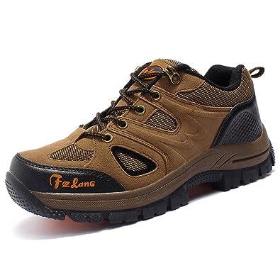 kissavi Unisex - Erwachsene Wanderschuhe Trekking Schuhe Wasserdicht Atmungsaktiv Veloursleder Bequeme Outdoor Hiking Sneaker a3Qe3z