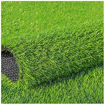 YNFNGXU Césped Artificial Súper Grueso 20Mm Apilado Alto Césped Sintético Suave Y Cómodo Adecuado para Jardín Balcón Césped Falso Tendido (Size : 2x8m): Amazon.es: Hogar