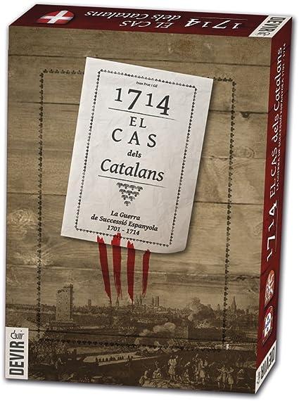 Devir - 1714, el CAS dels catalans, Juego de Mesa (BG1714): Amazon ...