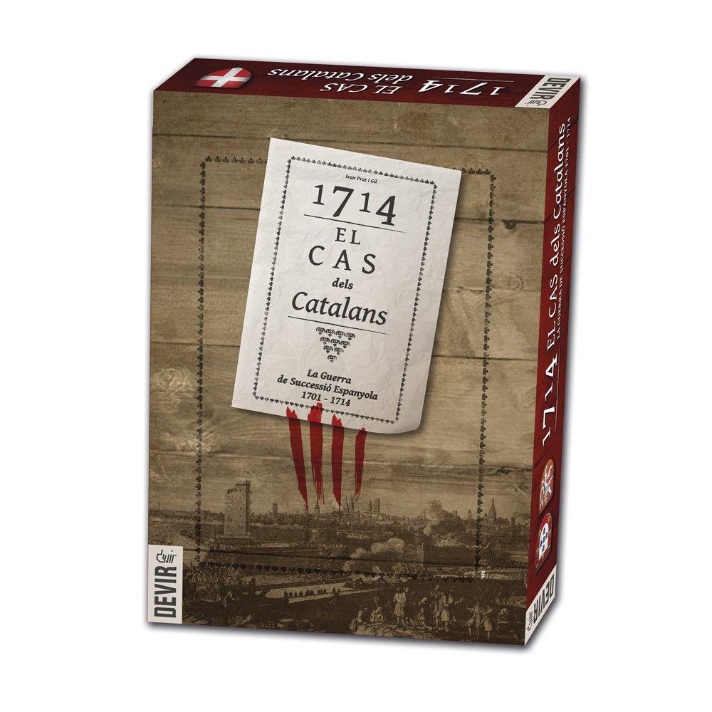 Devir - 1714, el cas dels catalans, juego de mesa (BG1714)