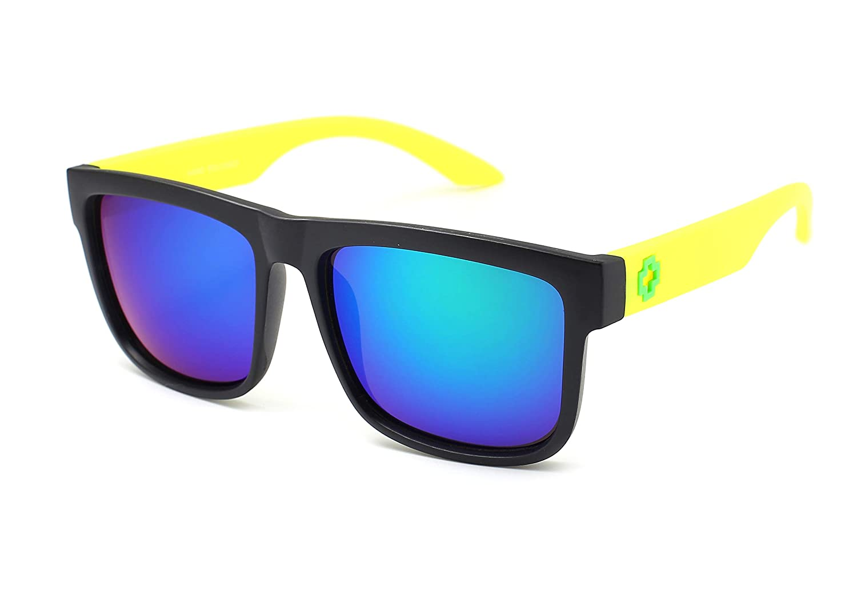 Jee Designer Vintage Retro Oversized Men Women Wayfarer Sunglasses Mirrored 81016 US170419-81016-3