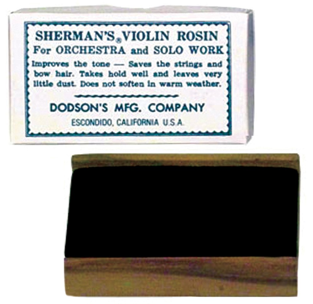 Sherman Violin Rosin: Dark 146DO