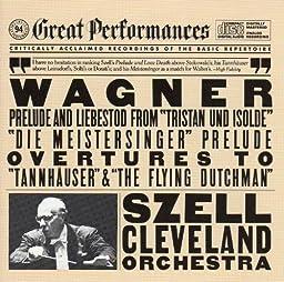 Wagner: Preludes & Overtures - Tristan Und Isolde Tannhauser Flying Dutchman