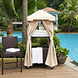 Crosley Furniture CO7304-BR Palm Harbor Outdoor