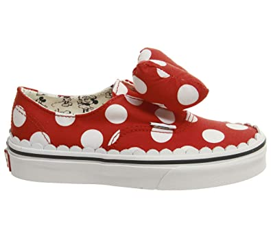 f5ec97cf29c Amazon.com  Vans Authentic Gore Disney Minnie s Bow Skate Shoes Size ...