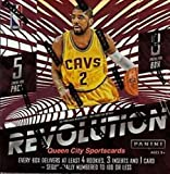 2015-16 Panini Revolution Basketball Hobby Box (8 Packs of 5 Cards: 4 Rookie Cards, 3 Inserts, 7 Parallels and 1 Card #'d to 100 or less)