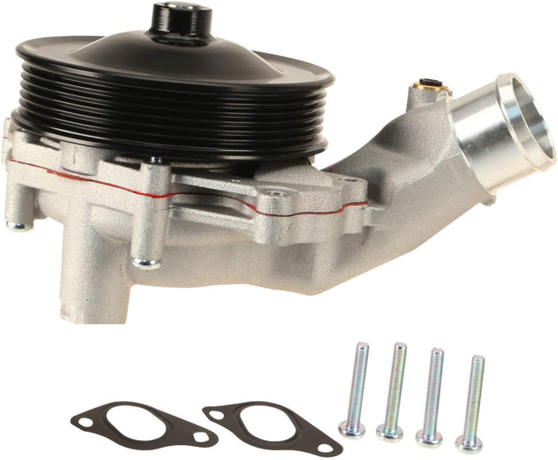 Amazon.com: Engine Coolant Water Pump embly with Gaskets ... on jaguar xf coolant leak, jaguar engine tools, jaguar xj8 coolant, jaguar coolant reservoir, jaguar engine timing,