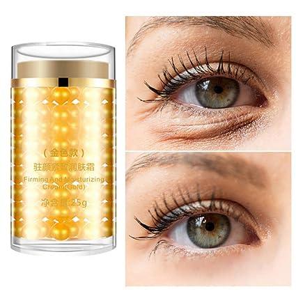 Crema de ojos de 24 K Gold - Tratamiento para ojeras y ...