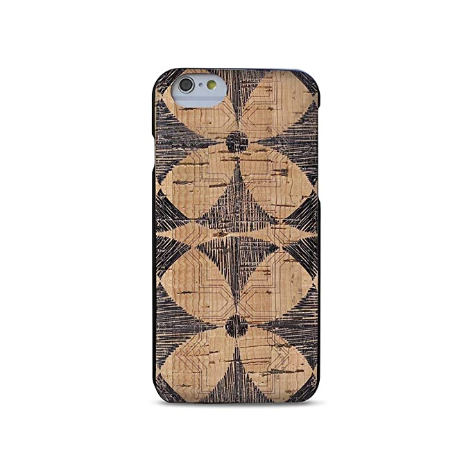 info for 76e46 11103 Wood Case Compatible with iPhone 7/8 - Natural Cork Wooden Fashion Case by  Reveal Shop - Stylish, Eco-Friendly Cork Leather Exterior w/Flower Print ...