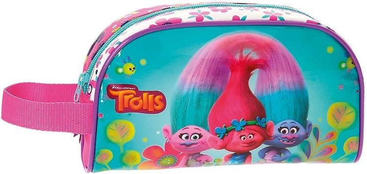 TROLLS- Neceser Estuche portatodo, Multicolor, 22 cm (Joumma 4834151): Amazon.es: Juguetes y juegos