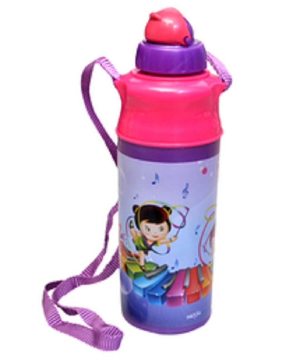 MILTON Kool Spark 500 Kids School Water Bottle Insulated with Top Straw - Violet
