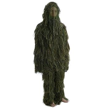 Cómodo traje militar para adultos, camuflaje, caza, 3D ...
