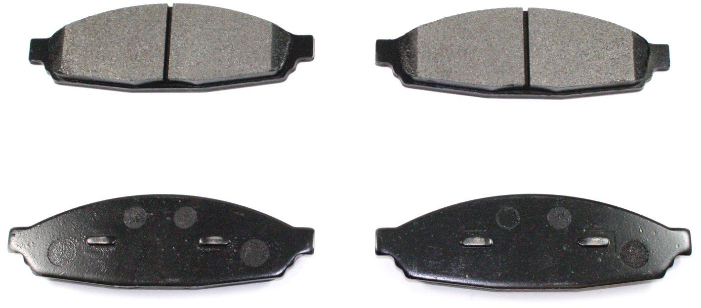 DuraGo BP953 MS Front Semi-Metallic Brake Pad Dura International BP953MS