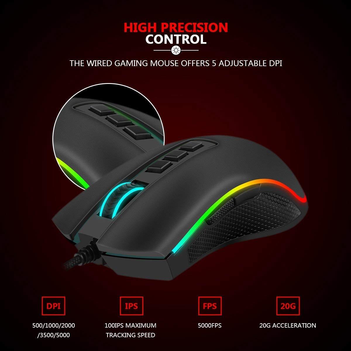 Redragon M711 COBRA - Gaming Mouse