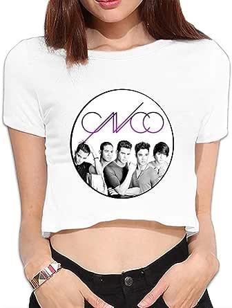 NJIASGFUIZ - Camiseta para Mujer con Logo de C N C O, Color ...