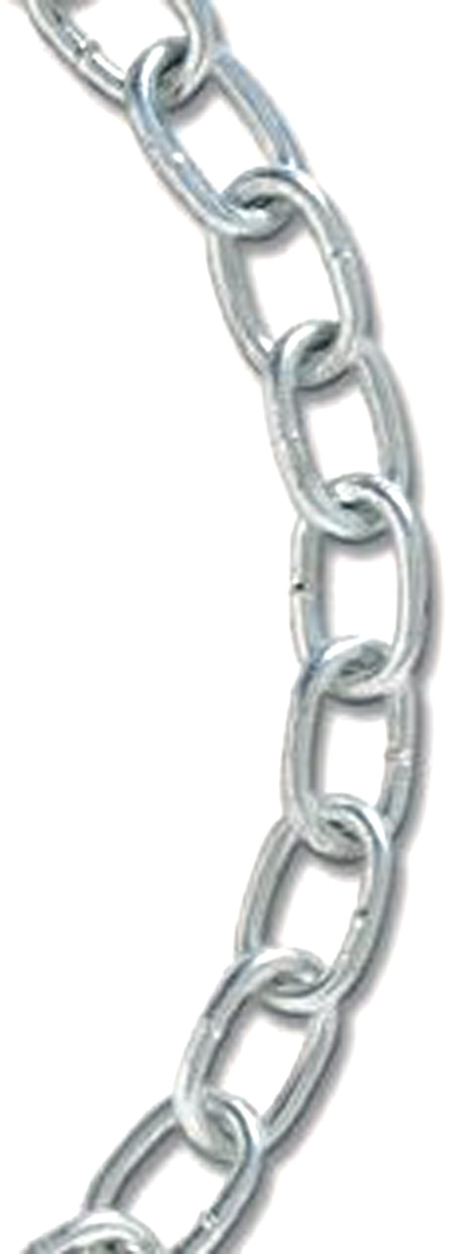 Koch 728926 2/0 by 120-Feet Passing Link Chain, Zinc Plated