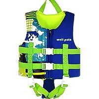 IvyH Chaleco de Natación Niño, Chaleco de Flotación Infantiles Nadar Entrenamiento Playa Yate Deportes Acuáticos Chaleco…