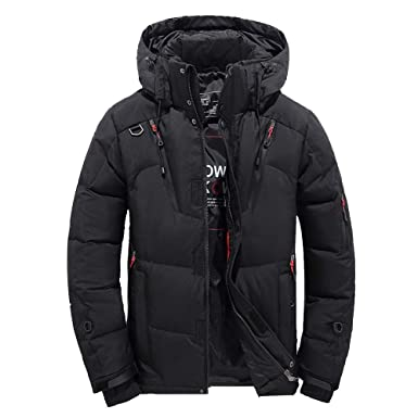Black Friday Shirts For Men Govow Hooded Winter Jacket For Men